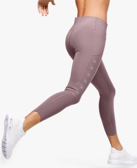 Women's UA Qualifier Speedpocket Roadside Runway Crop